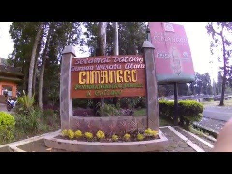 Video wisata bandung pemandian air panas