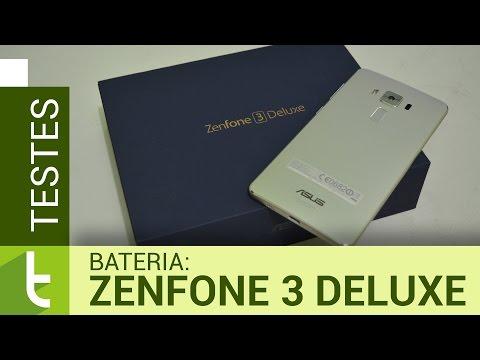Autonomia do Zenfone 3 Deluxe   Teste de bateria oficial do TudoCelular