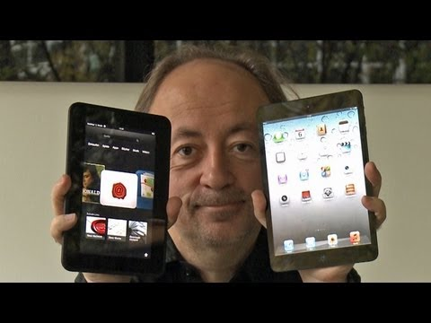 Das Tablet-Duell: iPad mini gegen Kindle Fire HD