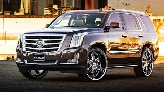 2015 Cadillac Escalade on Diablo Fury Wheels