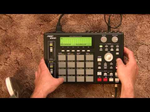 MPC 1000 Chopping samples and beats 101 (tutorial)
