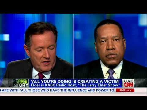Larry Elder intellectually Bodyslams Piers Morgan, Trayvon Martin Zimmerman Case