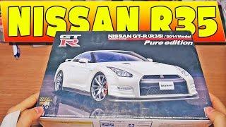 Nissan R35 1:24 Aoshima #1 - Unboxing | Modelarstwo