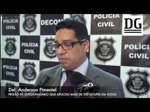 Delegado Anderson Pimentel explica prisão de estelionatário que aplicou mais de 300 golpes no estado
