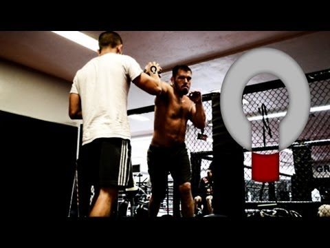 Dean Lister MMA training Workout July 27 Image 1