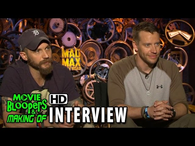 Mad Max: Fury Road (2015) Official Movie Interview - Tom Hardy (Max) & Jacob Tomuri (Stunt)