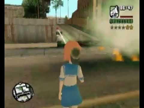 Loquendo GTA San andreas: Rena Ryuugu destruye San Andreas.