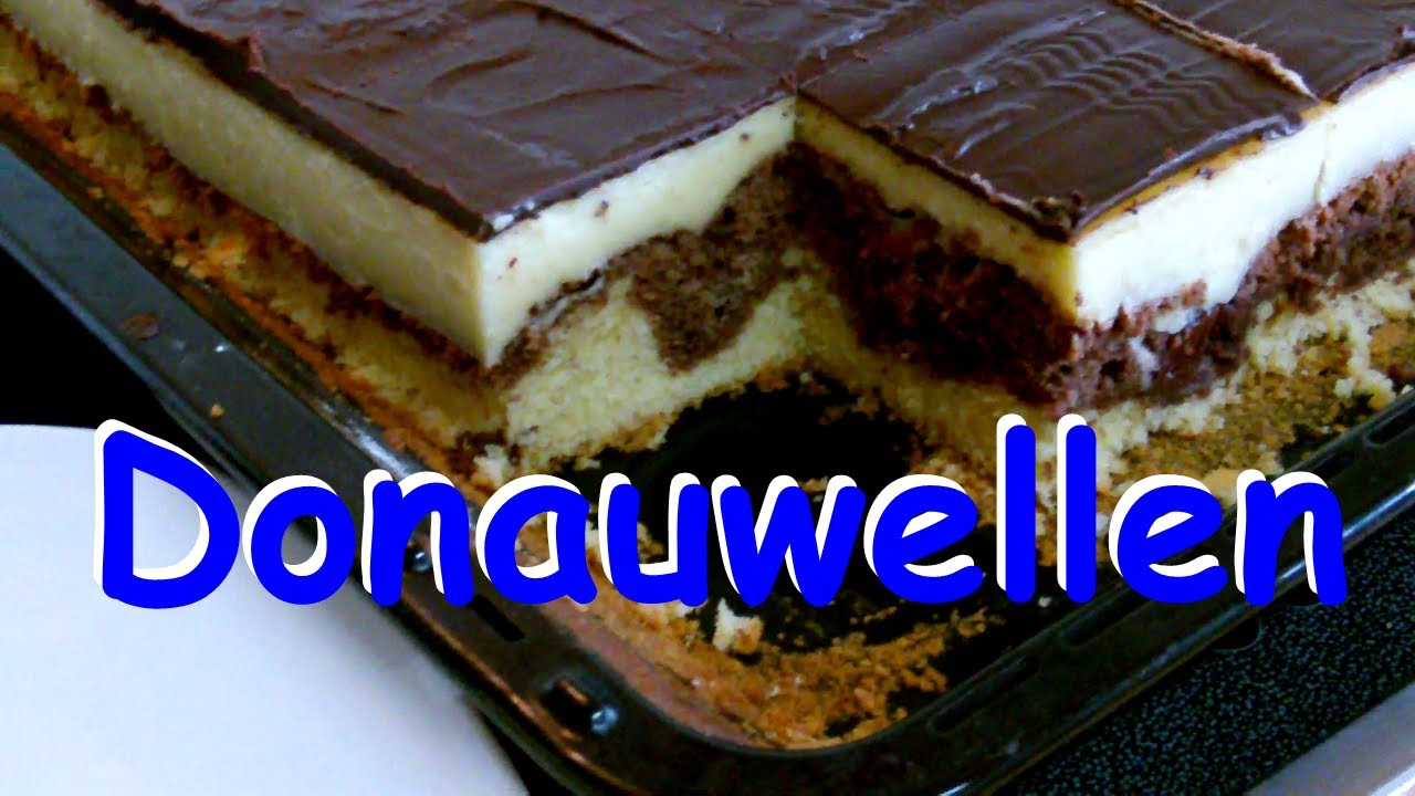 Donauwellen kuchen mit cremef llung rezept youtube for Youtube kuchen