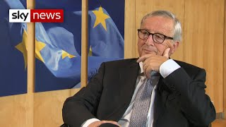 Exclusive: Jean-Claude Juncker says Brexit 'will happen'
