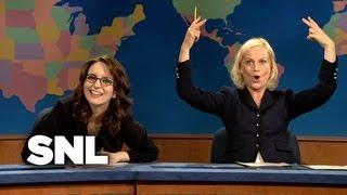 Tina Fey on Update - Saturday Night Live