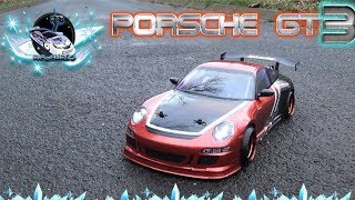 PORSCHE GT3 RS Modified Drift 1:10 MST (RC Karosserie lackieren)