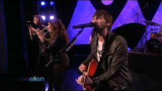 Lady Antebellum-American Honey-The Ellen DeGeneres Show (01/27/10)