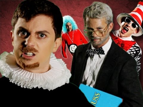 Dr Seuss VS Shakespeare.  Epic Rap Battles of History #12 Music Videos