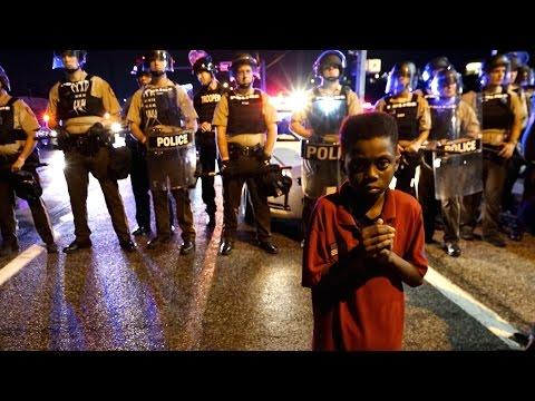 Ferguson Police Shoot Man at Michael Brown Anniversary Protest