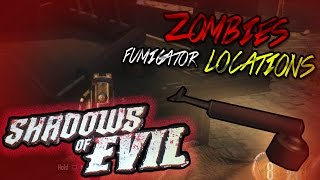 Black Ops 3 ZOMBIES Tutorial - FUMIGATOR LOCATIONS | Shadows of Evil