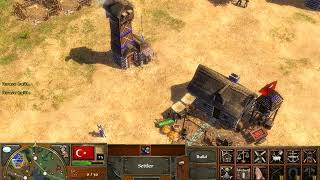 age of empires 3 gameplay w/cheats