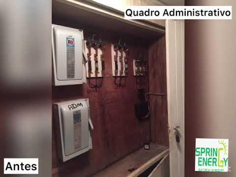 Condomínio Zapata - Adequação Elétrica - SPRING ENERGY