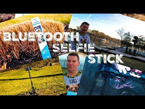 FUGETEK  FT-568 Bluetooth SELFIE Stick Review (Phone , GoPro, DSLR)   BEST VERSATILE BUDGET SELFIE