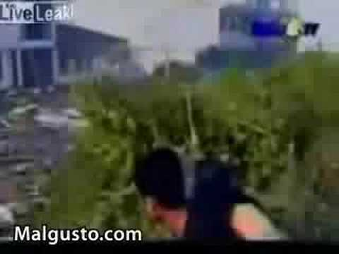 Tsunami Indonesia 2004, Live Video (Llegada del Tsunami)