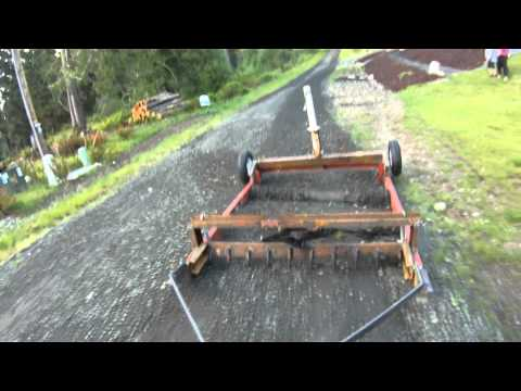 Homemade Drag grader