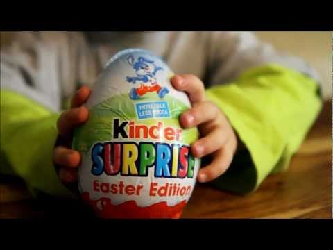 Kinder Surprise Easter Edition - Big Egg. BIG Surprise !