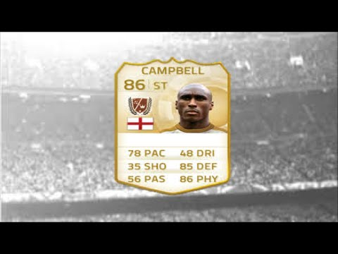 Fifa 15 Ultimate Team | Sol Campbell | CB-ST
