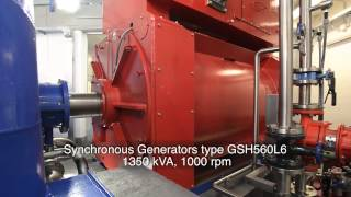 TES small hydro generator - Marmore, Italy