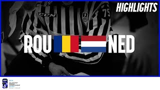 Romania vs Netherlands | Highlights | 2019 IIHF Ice Hockey World Championship Division I Group B