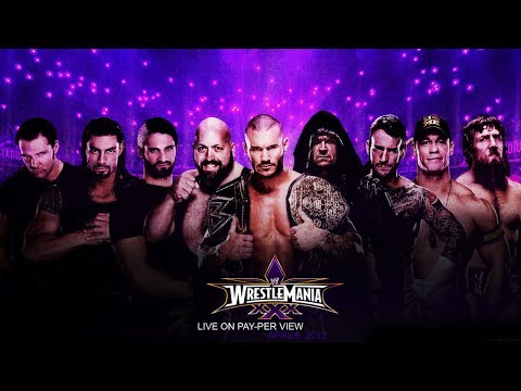 WWE WRESTLEMANIA 30 MATCH CARD - PLANNED RUMORED MATCHES FOR WRESTLEMANIA XXX