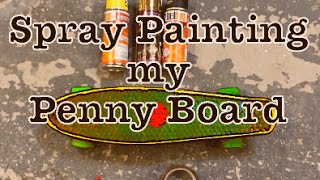 Painting my Penny Board