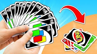I Had The STRONGEST HAND In UNO EVER! (unbeatable)