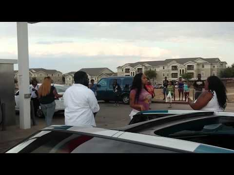 Dallas Girls Hood Fight At Exxon video