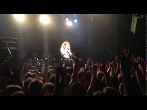 Megadeth, Tallinn, 28.06.2012, Dave Mustaine speech