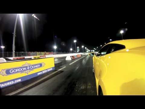Lamborghini Gallardo Heffner Twin Turbo Bolt-on Kit Dyno and Drag Racing vs Nissan GT-R