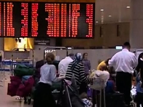 Commercial airlines cancel flights to Israel over safety concerns