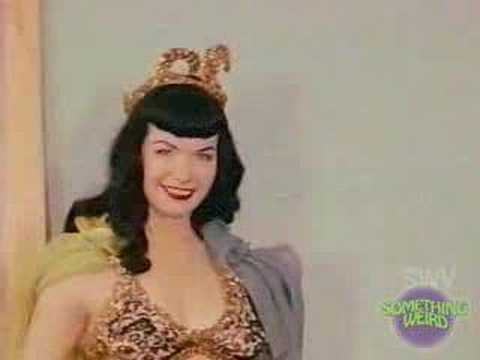Something Weird Varietease Featuring Betty Page Video