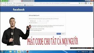 Hướng Dẫn Lấy Lại Mật Khẩu Facebook Bằng Code Mới Nhất 2018