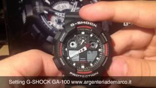Recensione Casio G-Shock GA-100-1A2ER GA-100-1A4ER