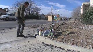 Memorial growing for teenager killed in stolen van crash.