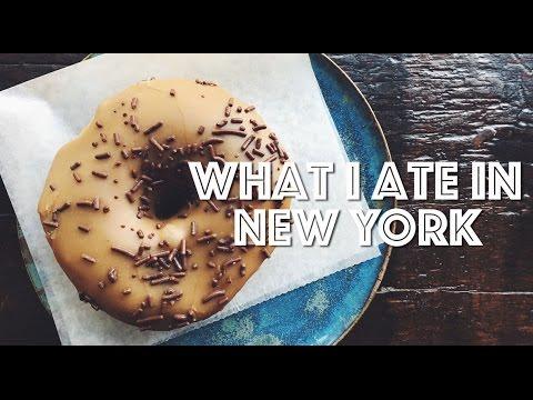 WHAT I ATE IN NEW YORK (VEGAN)