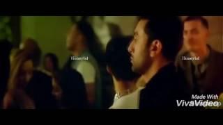 Anushka and ranbir new hot kissing scene must watch !