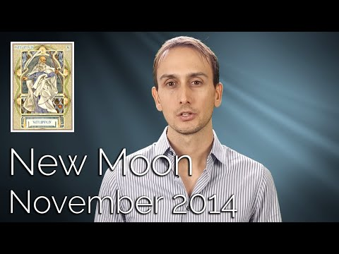 NEW MOON REPORT: November 22 & 23 2014 - Sidereal Astrology