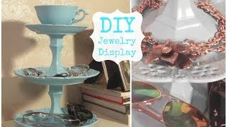 DIY Jewelry Display & Room Decor