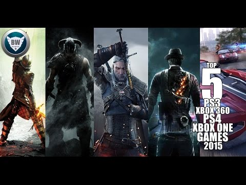 TOP 5 PS3/XBOX 360/PS4/XBOX ONE/PC GAMES 2015 HD