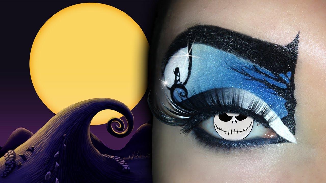 Tim Burton S Movies Inspired Makeup Tutorial Ft
