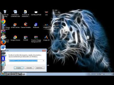 como poner el reproductor windows media en la barra de tareas