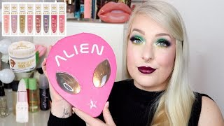 Jeffree Star Holiday Collection 2018 - LIVE Test, Swatches & erster Eindruck I Frollein Tee