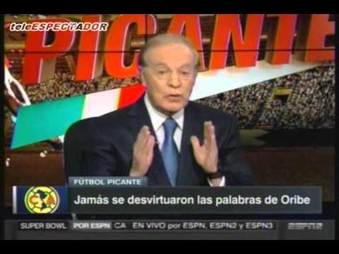 Jose Ramon Fernandez le responde a Oribe Peralta - Futbol Picante