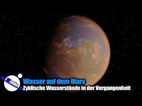 Wasser auf dem Mars - Zyklische Wasserstände in der Vergangenheit