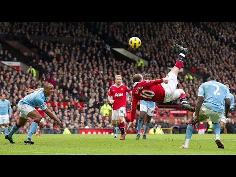 wayne rooney Fallrückzieher gegen Manchester city wayne rooney fallrückzieher vs manchester city manchester united vs manchester city all goals and highlight...